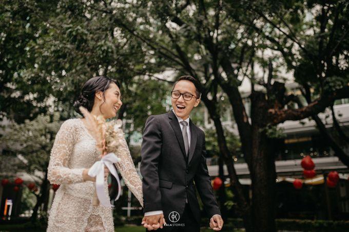 Sarah & Dhimas Intimate Wedding by newlyweds.wo - 006