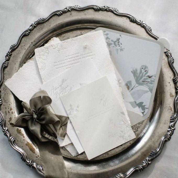 White Rustic Invitation by Pensée invitation & stationery - 004