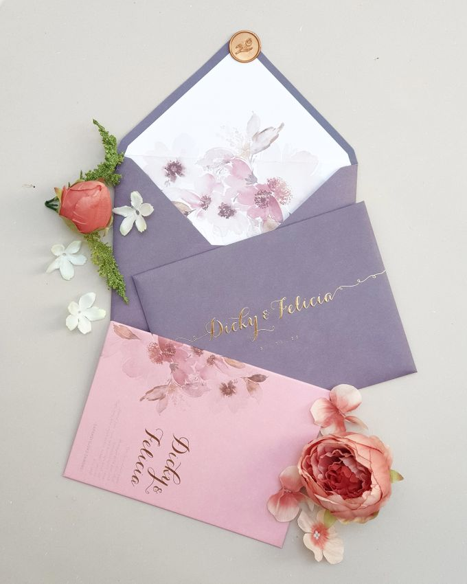 Romantic  Anemone by Invitation Papermint - 001