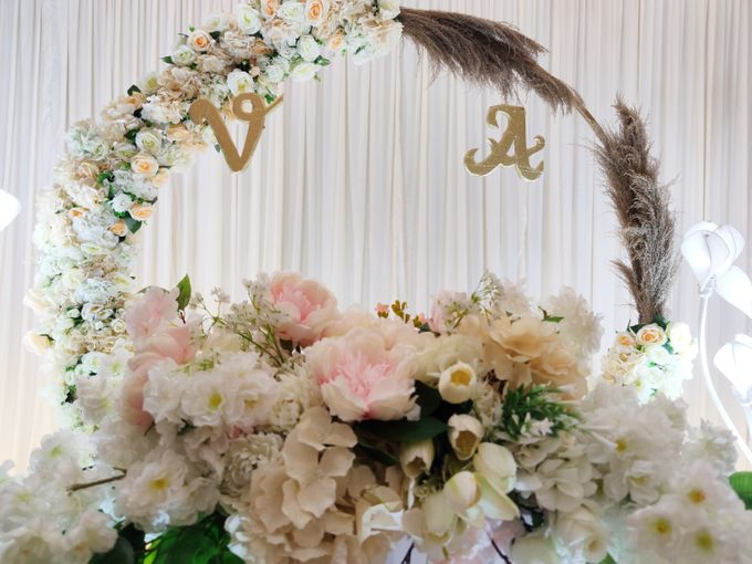 Holy Matrimony Vincent & Angel by Calysta Sangjit Decoration - 004