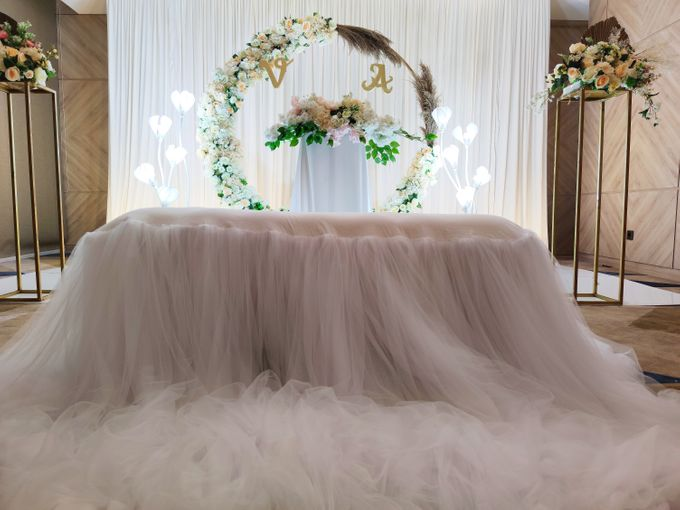 Holy Matrimony Vincent & Angel by Calysta Sangjit Decoration - 008
