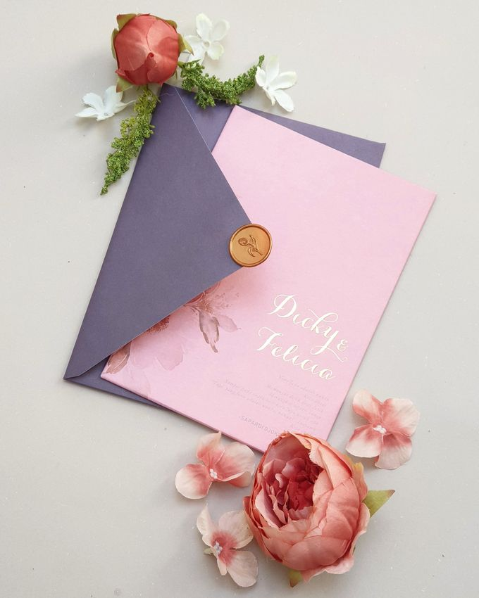 Romantic  Anemone by Invitation Papermint - 002