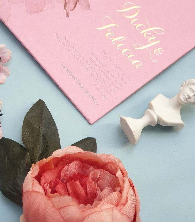 Romantic  Anemone by Invitation Papermint - 003