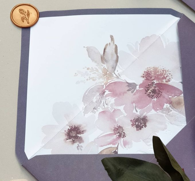 Romantic  Anemone by Invitation Papermint - 006