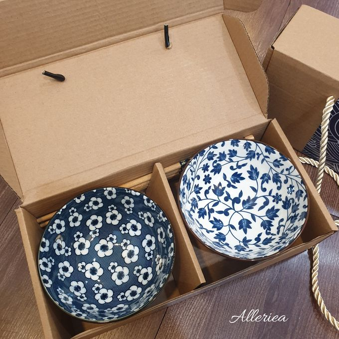 Premium Bowl And Chopstick Set by Alleriea Wedding Gifts - 003