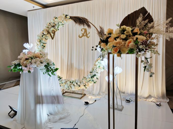 Holy Matrimony Vincent & Angel by Calysta Sangjit Decoration - 002