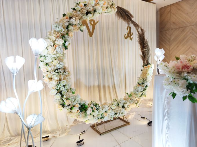 Holy Matrimony Vincent & Angel by Calysta Sangjit Decoration - 003