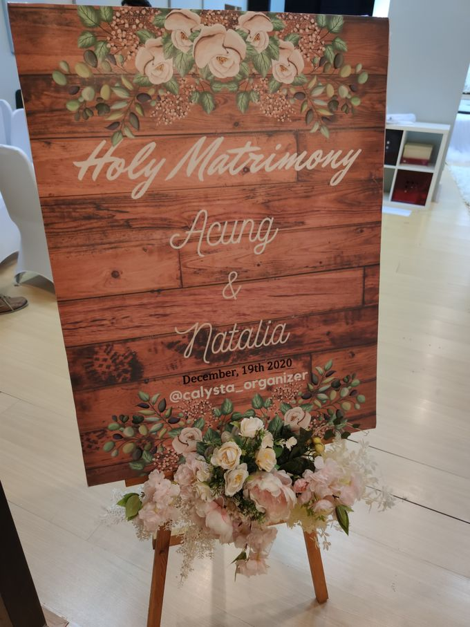 Holy Matrimony Acung & Natalia by Calysta Sangjit Decoration - 005