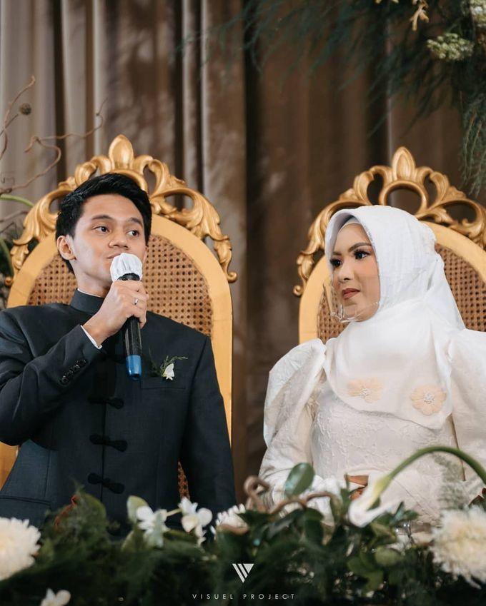 The Wedding Of Andrita Dan Dhafin Hiasan Hati Wedding Planner Organizer Bridestory