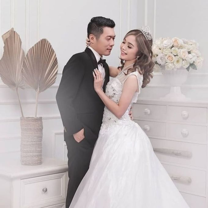 Prewedding Indoor Studio by AMEY CHAN SALON BRIDAL - 003