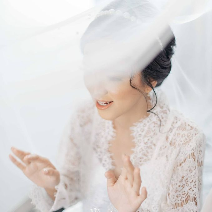 The Wedding of Tonny & Febe by MarisaFe Bridal - 001