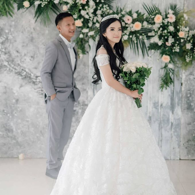 The Wedding of Tonny & Febe by MarisaFe Bridal - 002