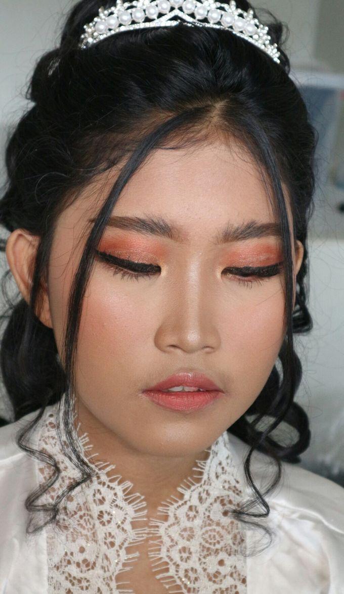 Holy Matrimony Wedding Makeup by Hana Gloria MUA - 003