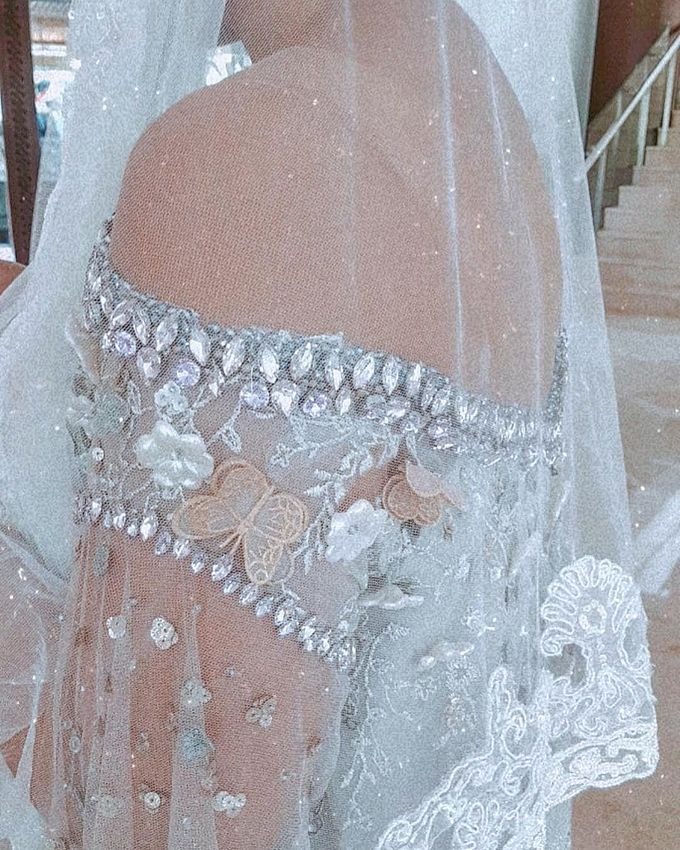 Marissa Outdoor Reception Dress by SARSA - 003