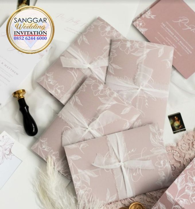 LUCY & RAYMOND (Soft Flory Ornament Luxury) by Sanggar Undangan - 002