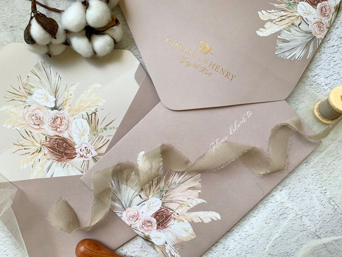 Tropical Sand by Trouvaille Invitation - 009
