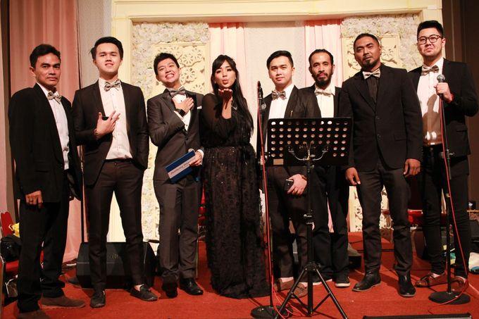 Jazz Entertainment Wedding Suncity Ballroom Jakarta - Double V entertainment by Anthony Stevven - 003