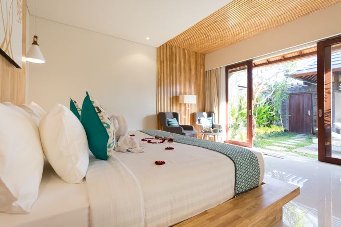 Honeymoon arrangement in the room by Theanna Eco Villa and Spa - 005