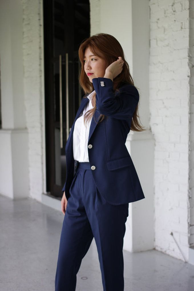 choose original how to buy sale uk ONE CAFE DATE Women suits by Made Suits | Bridestory.com