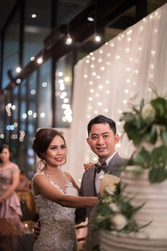 The Wedding of Yonas & Priska  by Chesara Makeup - 004