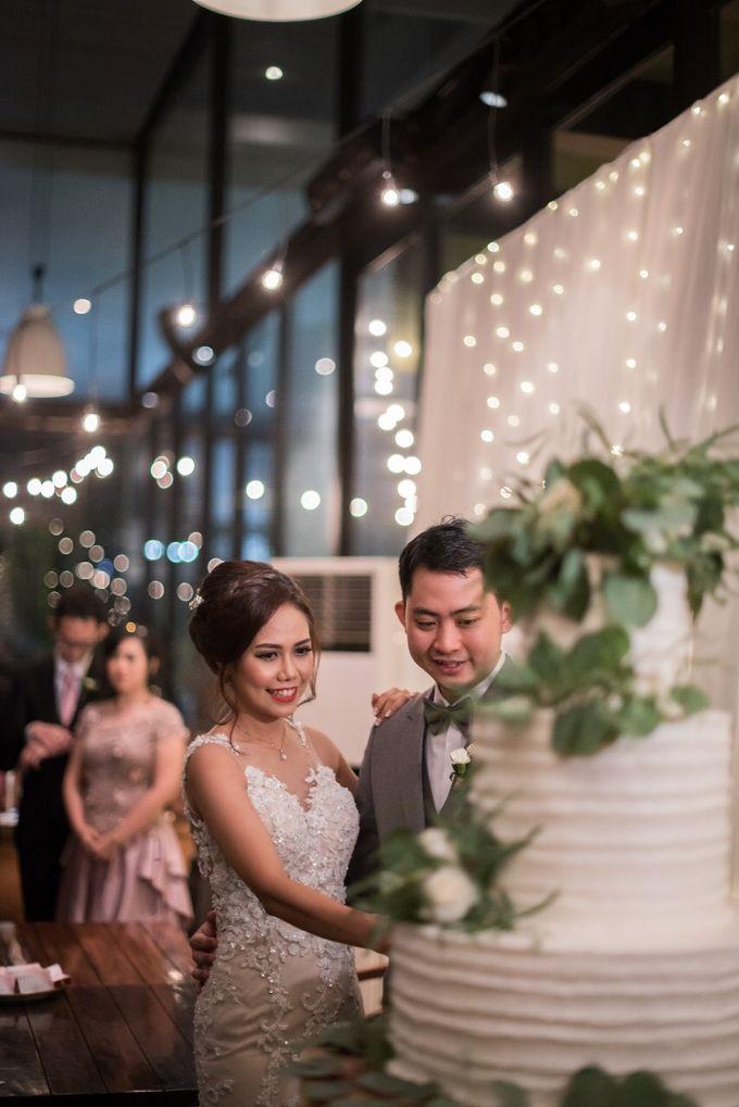 The Wedding of Yonas & Priska  by Chesara Makeup - 001