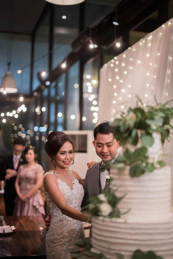 The Wedding of Yonas & Priska  by KAIA Cakes & Co. - 001