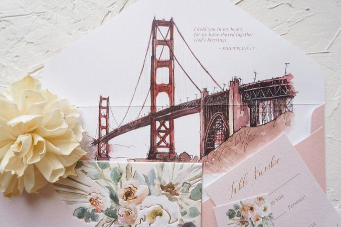 Bridge of Love by Trouvaille Invitation - 016