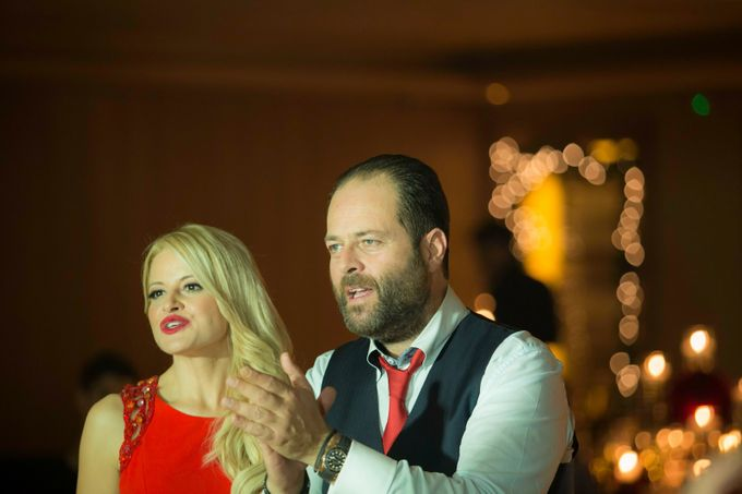 Luxury Christmas Red & Gold Wedding by Diamond Events - 007