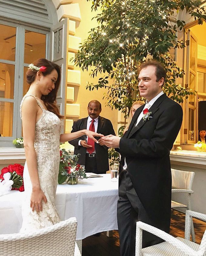 London Carrell Classic European Wedding By Stephy Ng Makeup And