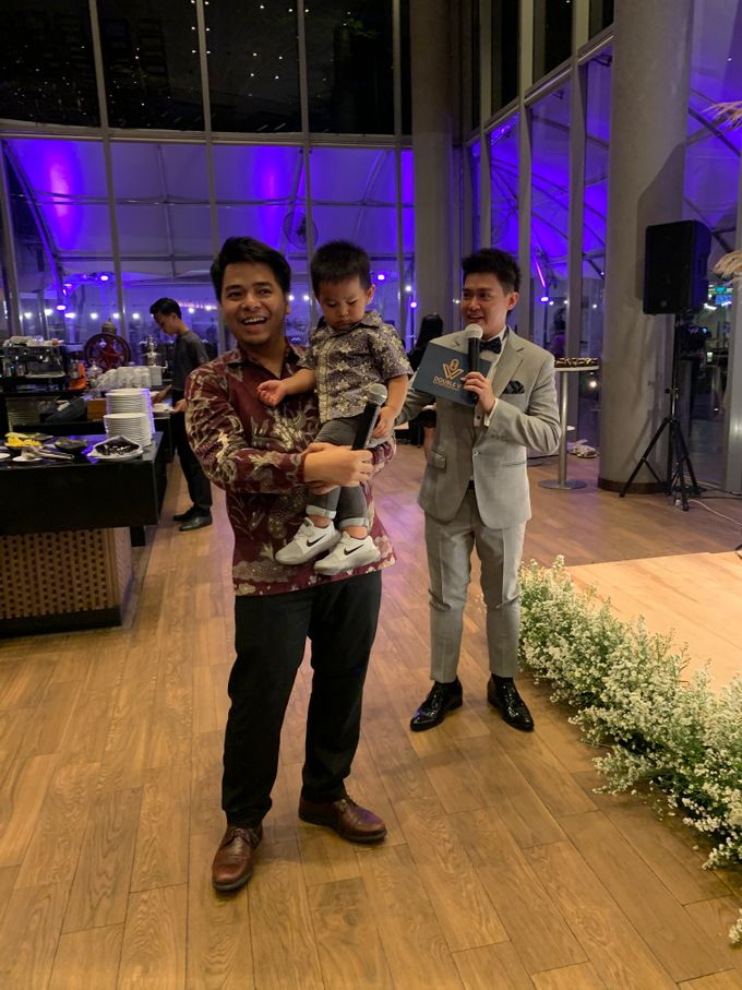Entertainment Wedding Intimate Double Tree Jakarta - Double V entertainment by Anthony Stevven - 021