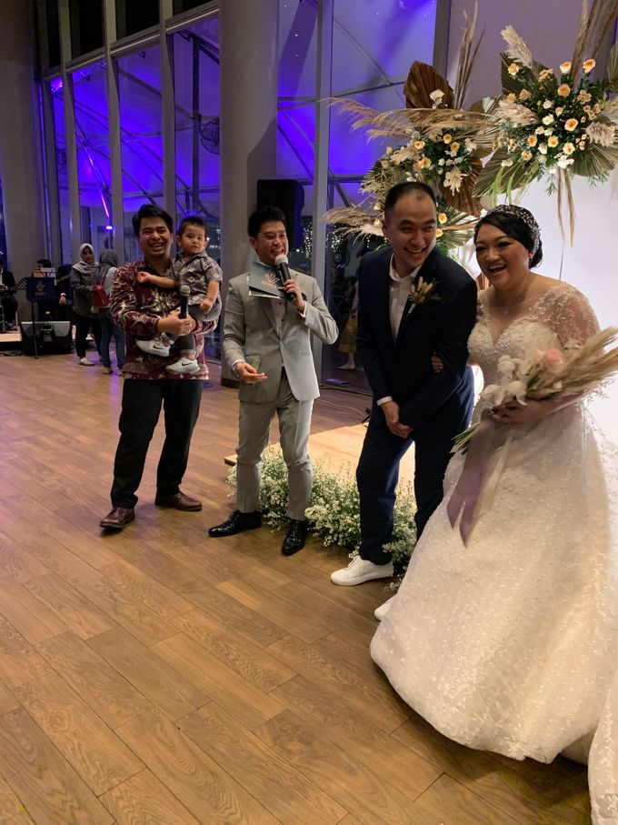 Entertainment Wedding Intimate Double Tree Jakarta - Double V entertainment by Anthony Stevven - 007