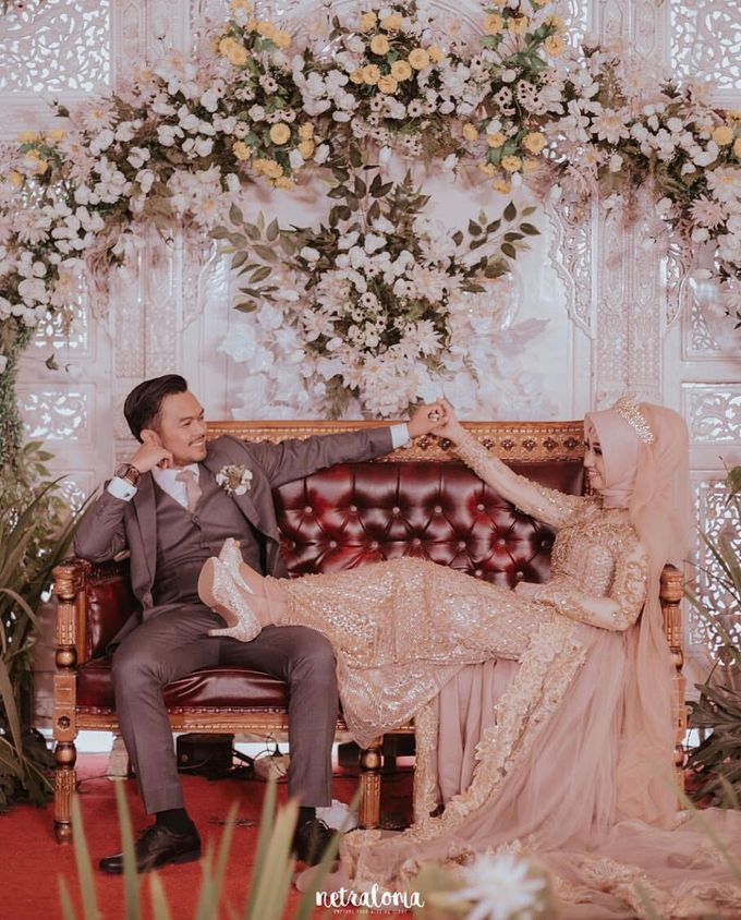 Kurnia & Azis Wedding Day by Andre Valentino Bridal Shoes - 001