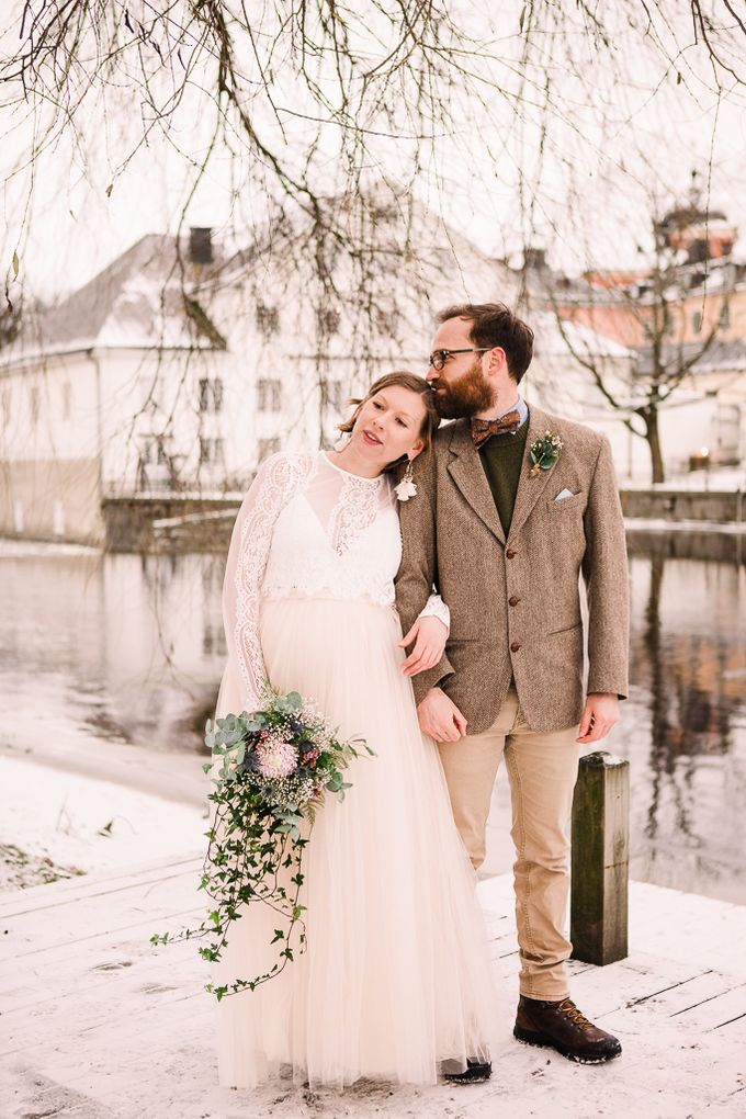Elopement in Uppsala by Annelie Photography - 011