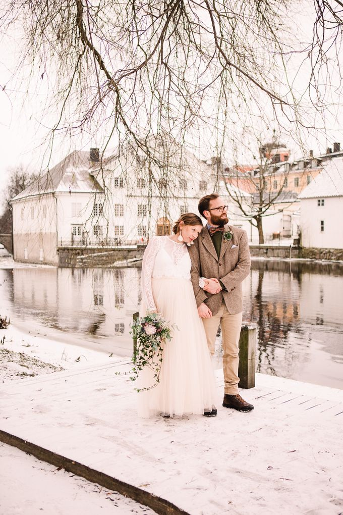 Elopement in Uppsala by Annelie Photography - 013
