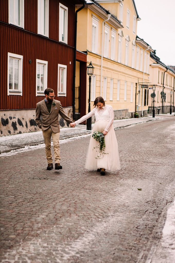 Elopement in Uppsala by Annelie Photography - 010
