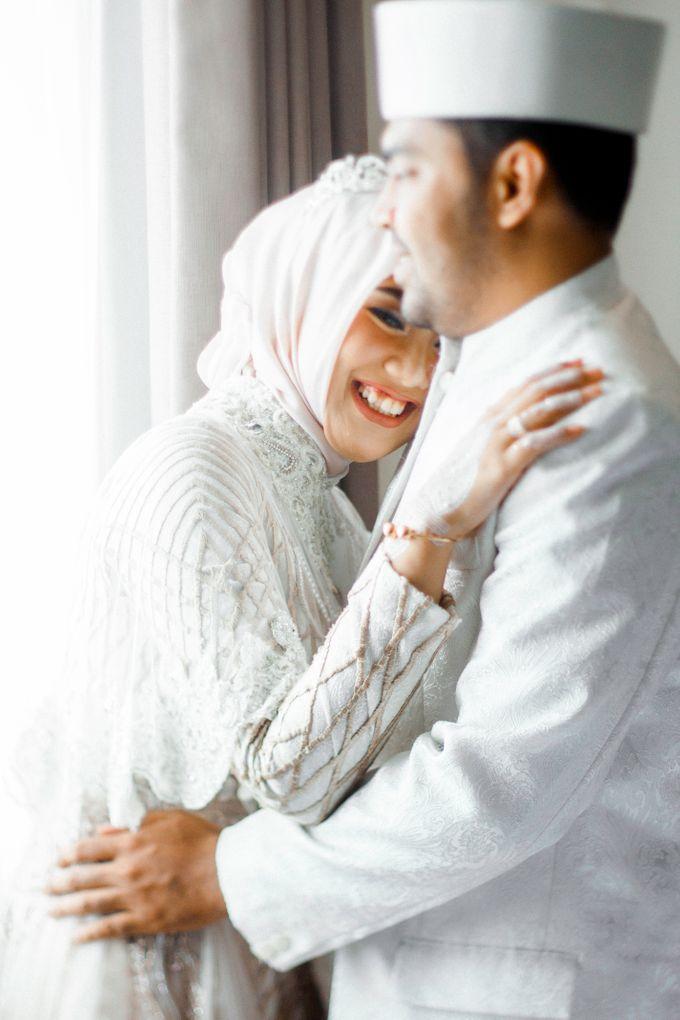 The Wedding of Ikhsan and Laily by LAKSMI - Kebaya Muslimah & Islamic Bride - 004