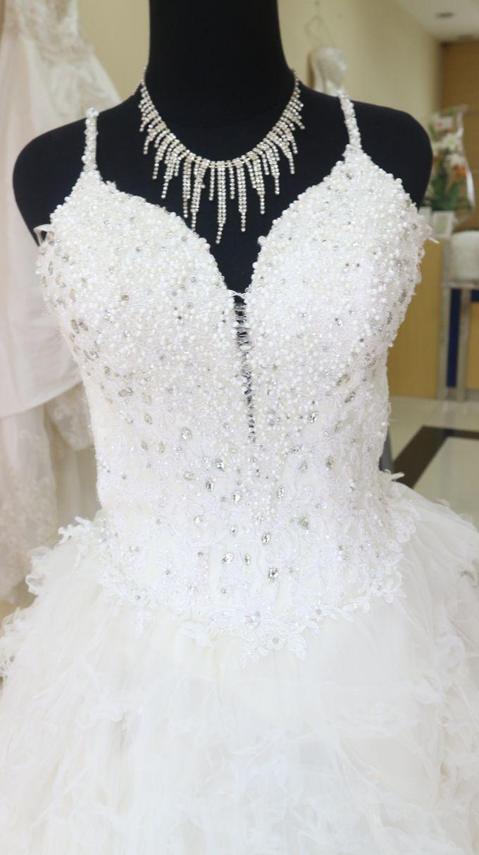 Charmant Yuna Wedding Dress Zeitgenössisch - Hochzeit Kleid Stile ...