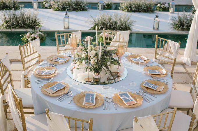 Charming Airy-blue Clifftop Wedding at Sunset Plenilunio Bali by Silverdust Decoration - 012