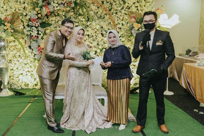 The New Normal Wedding Of Winda & Rizal by HENRY BRILLIANTO - 016