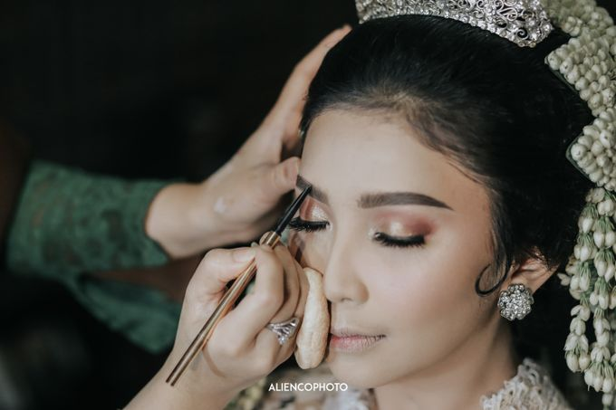 GEDUNG ANTAM WEDDING OF WINNIE & ANAS by alienco photography - 033