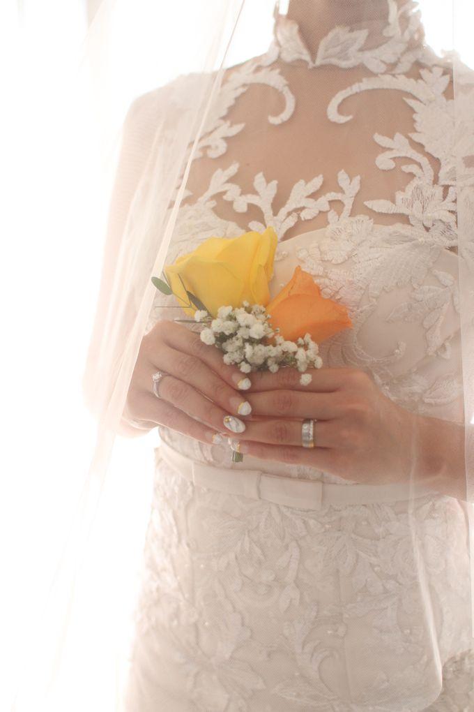 Gandhy & Vivin Wedding Day by KYRIA WEDDING - 023