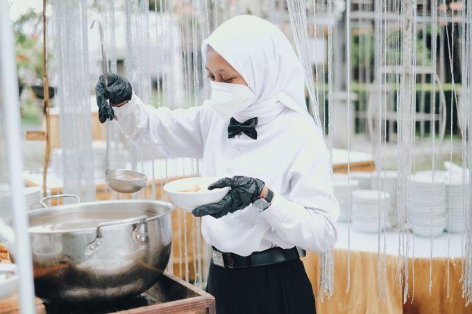 Buffet Service on Pandemic by Bojana Sari Catering - 005