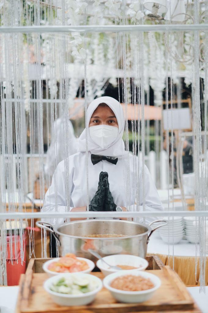 Buffet Service on Pandemic by Bojana Sari Catering - 008