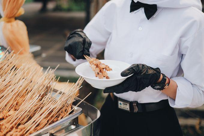 Buffet Service on Pandemic by Bojana Sari Catering - 006
