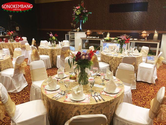 WEDDING OF DISSA & ADIMAS by Sonokembang Catering - 004