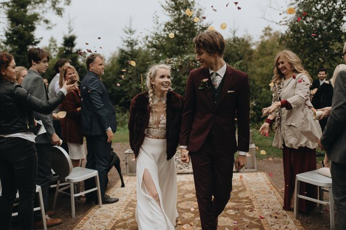 Abigail and David Fall Wedding by linyage - 001