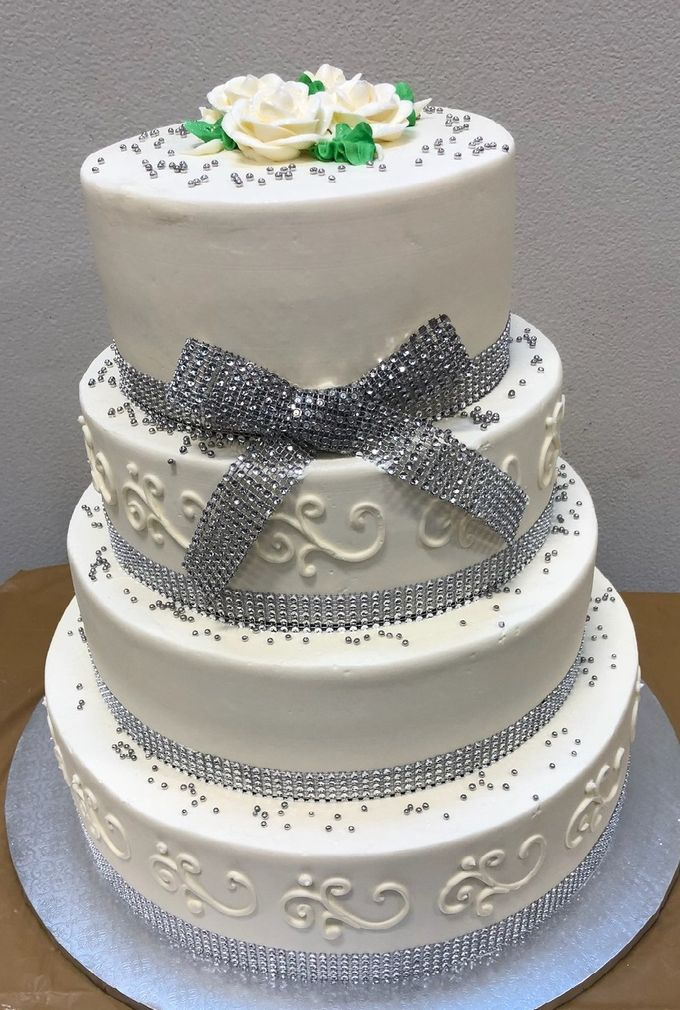 Wedding Cake by The French Bread Factory - 001