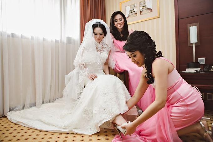 Hotel Borobudur Jakarta - Ferry & Ester by Impressions Wedding Organizer - 008