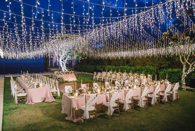 Romantic-Modern Wedding at Alila Uluwatu by Silverdust Decoration - 037