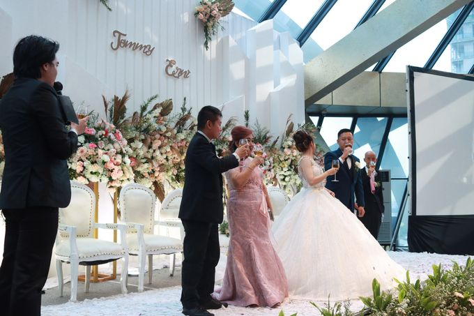 New Normal Wedding Entertainment At JHL Solitaire Serpong - Double V Entertainment by Double V Entertainment - 008